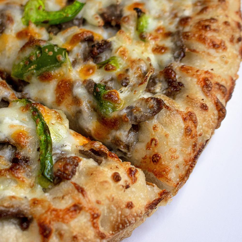 Philly-Steak-Pizza